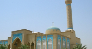 A file photo of the mosque. (Image: Abza.)