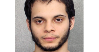 Esteban Santiago mug shot, January 7, 2017. (Image: Broward County Sheriff's Office, Florida.)