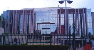Interpol HQ, in France. (Image: Massimiliano Mariani.)