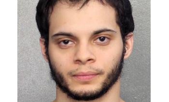 Esteban Santiago mug shot, January 7, 2017. (Image: Broward County Sheriff's Office, Florida.)