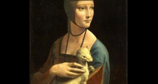 Lady with an Ermine (Image: Leonardo da Vinci.)