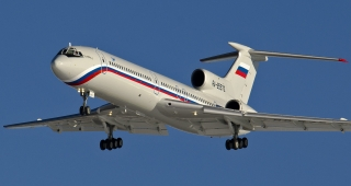 The crashed aircraft in May this year. (Image: Alexander Usanov.)