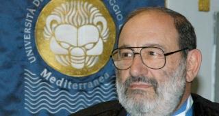 Umberto Eco, 2005. (Image: Università Reggio Calabria.)
