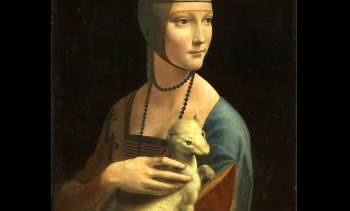 Lady with an Ermine (Image: Leonardo da Vinci.)