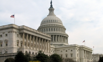 The Capitol Building, home to the Senate. (Image: Scrumshus.)