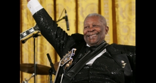 B.B. King in 2006. (Image: Eric Draper.)