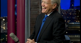 David Letterman in 2011. (Image: Joint Chiefs of Staff.)