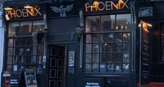 The Phoenix Bar on Broughton Street in Edinburgh. (Image: Brian McNeil.)