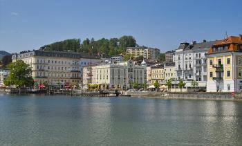 Schiff's hometown Gmunden, from file. (Image: Eduard Schumm.)