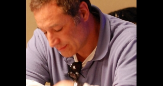 Simon pictured in 2008 at the 2008 World Series of Poker (Image: Matt Waldron.)