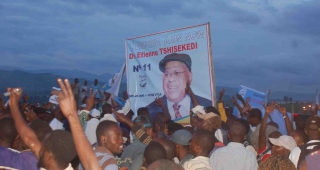 Tshisekedi's supporters during his 2011 election campaign. (Image: Vote Tshisekedi Presidential Campaign (Flickr).)