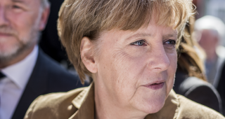 German Chancellor Angela Merkel, from file (Image: FNDE.)