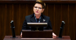 Szydło from file. (Image: KPRM.)