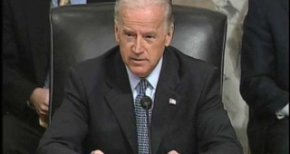 Vice President Joe Biden presided over the U.S. Congress as they counted the electoral votes from the 2016 presidential election. (Image: Wikimedia Commons.)