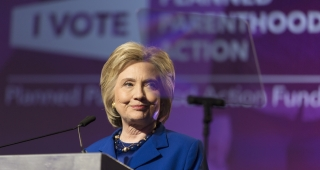 Clinton speaks at the Planned Parenthood Action Fund on June 10. (Image: Lorie Shaull.)