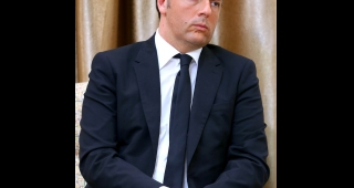 File photo of Italian Prime Minister Matteo Renzi. (Image: Official website of Ali Khamenei.)