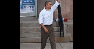 President Barack Obama in 2010. (Image: John Kees.)