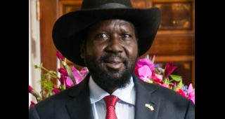 Salva Kiir in the United States last year. (Image: U.S. Department of State.)