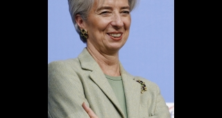 File photo of Christine Lagarde, 2010. (Image: Marie-Lan Nguyen .)
