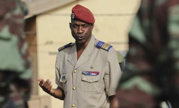 Gilbert Diendéré in 2010. (Image: Jeremiah Erickson, USAF.)