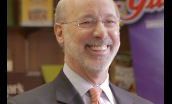 Tom Wolf, 47th Governor of Pennsylvania, was inaugurated yesterday. (Image: Tom Wolf for Governor.)