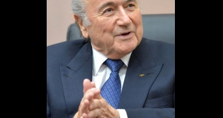 Sepp Blatter in April 2015. (Image: Press Service of the President of Russia.)