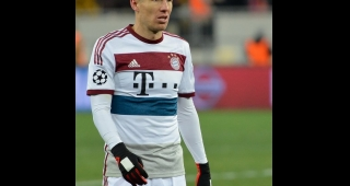 Robben playing for Bayern in 2015. (Image: Богдан Заяц/Кирилл Крыжановский (Football.ua).)