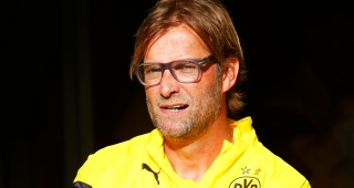 Klopp in Borussia Dortmund jersey in 2014 (Image: Tim.Reckmann.)