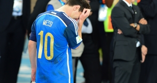 File photo of Lionel Messi after a loss in 2014. (Image: Agência Brasil.)