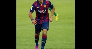 File photo of Luis Suárez who scored the hat-trick (Image: Lluís.)