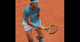 File photo of Nadal competing in 2016. (Image: Carine06 (Flickr).)