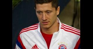 File photo of Robert Lewandowski, playing for Bayern Munich, who scored a brace in the match. (Image: Uwe Bassenhoff.)