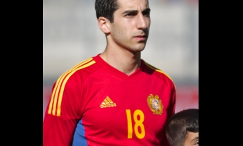 File photo of Henrikh Mkhitaryan, 2014. (Image: Clément Bucco-Lechat.)