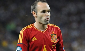 File photo of Andrés Iniesta, who won the man of the match award. (Image: Илья Хохлов.)