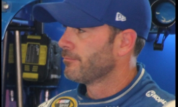 Jimmie Johnson in 2015 (Image: Sarah Stierch.)