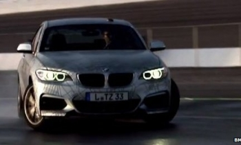 BMW self-driving car drifting around track without human intervention