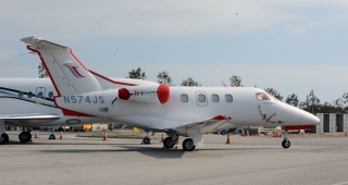 Embraer Phenom 100, similar to the accident aircraft. (Image: WPPilot)