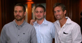 Paul Walker, Cody Walker and Caleb Walker