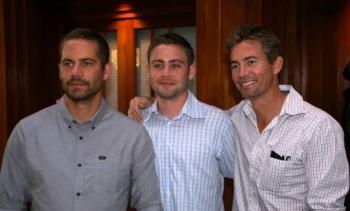 Paul Walker, Cody Walker and Caleb Walker