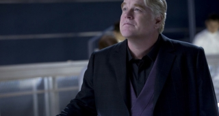 Philip Seymour Hoffman as Plutarch Heavensbee