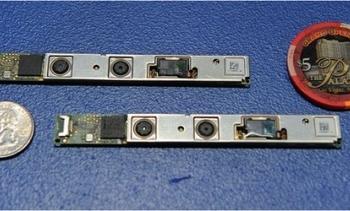 The RealSense camera is thinner than a Las Vegas casino chip.